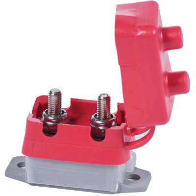 Breaker, Short Stop, Push-to-Reset, 50A
