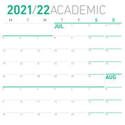 Academic Calendar, Monday First