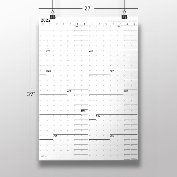 PDF of Monday First - Large Wall Calendar