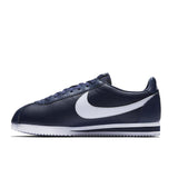 Men Nike Classic Cortez Leather Navy White