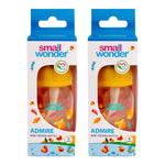 125ml Admire Feeding Bottle Yellow Pack Of 2 - Small Wonder