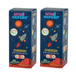 125ml Cherish Feeding Bottle Blue Pack Of 2 - Small Wonder