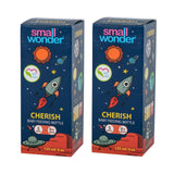 125ml Cherish Feeding Bottle Pink Pack Of 2 - Small Wonder