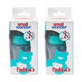 150ml Wide Mouth Poohka's Bottle Green Pack Of 2 - Small Wonder