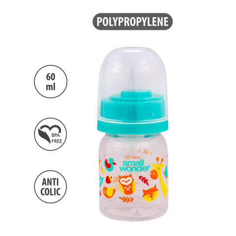 60ml Admire Feeding Bottle Green - Small Wonder