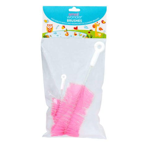 Bottle & Nipple Cleaning Brush Pink - Small Wonder
