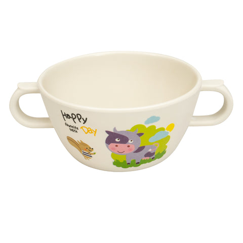Bamboo Fibre Snack Bowl - Cow - Small Wonder