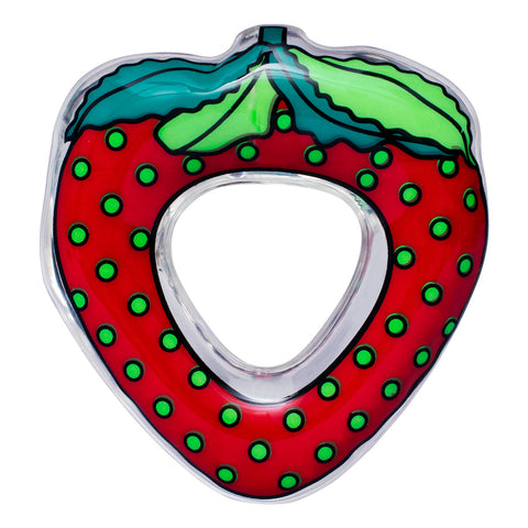 Small Wonder Water Filled Teether - Strawberry