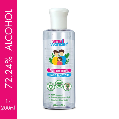 Small Wonder Hand Sanitizer 200ml (Pack of 1)
