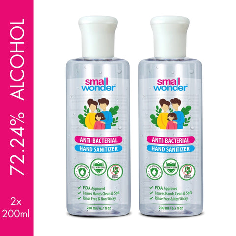 Small Wonder Hand Sanitizer 200ml (Pack of 2)