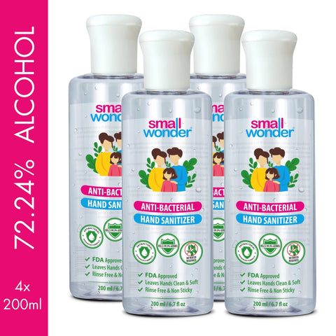 Small Wonder Hand Sanitizer 200ml (Pack of 4)