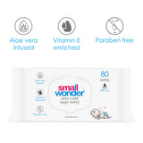 Small Wonder Skin Care Baby Wipes (Pack of 4)