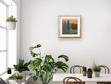 Load image into Gallery viewer, original artwork Micro Garden in situ - ruth hunter studio