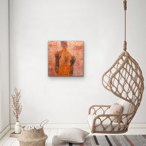 Original Artwork in Situ | Ruth Hunter Studio | Soul on Fire