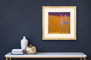Original Artwork in Situ | Ruth Hunter Studio | Beach People