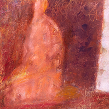 Load image into Gallery viewer, Original Artwork | Figurative Painting by Ruth Hunter | All-One | Contemporary Figure in an Inner Landscape