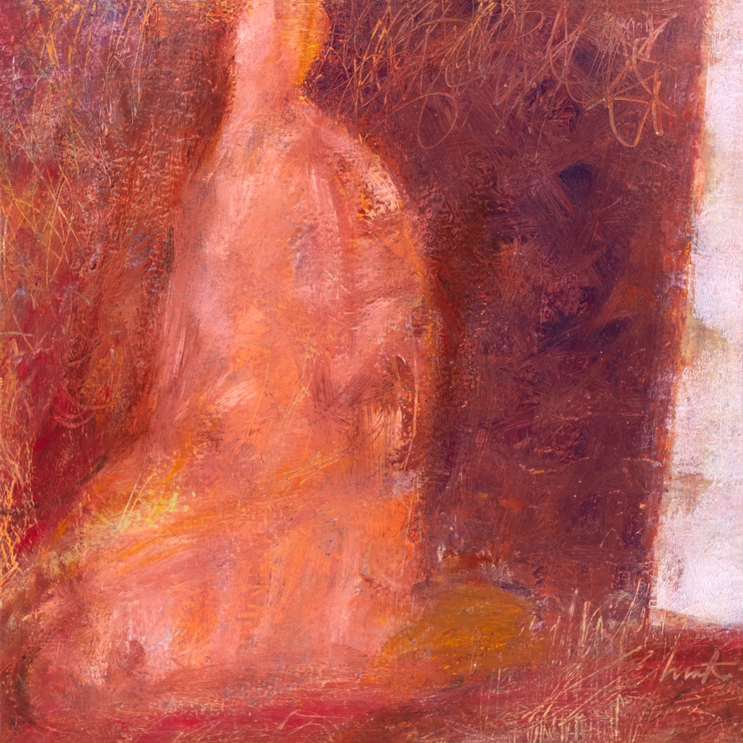 Original Artwork | Figurative Painting by Ruth Hunter | All-One | Contemporary Figure in an Inner Landscape
