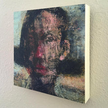 Load image into Gallery viewer, Original Painting on Birch Wood Panel by Ruth Hunter | Girl | Natural Wood Profile