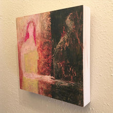 Load image into Gallery viewer, Original Painting on Birch Wood Panel by Ruth Hunter | Re-Member | Natural Wood Profile