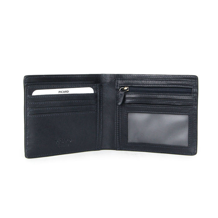 PICARD-TEUER-WALLET CARD/WINDOW/ZIP COIN/EW (M)