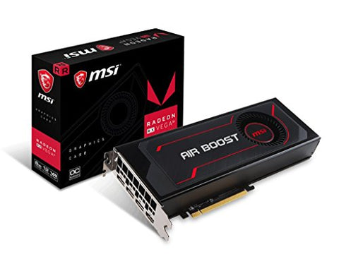 MSI Video Card Radeon RX Vega 56 Air Boost 8G OC: Computers & Accessories