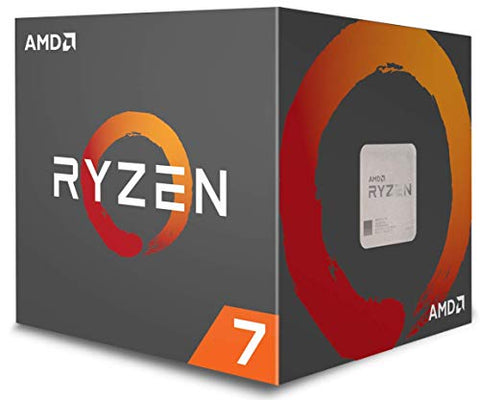 AMD Ryzen 7 1700 Processor with Wraith Spire LED Cooler (YD1700BBAEBOX): Electronics