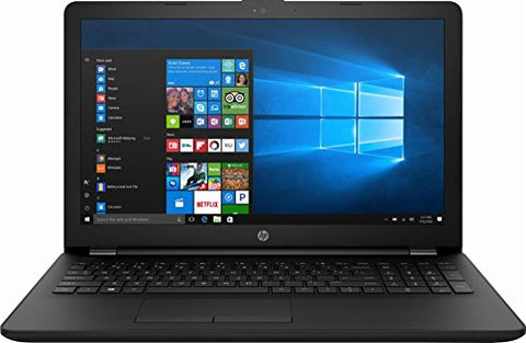 "High Performance HP 15.6"" Laptop PC AMD A6-7310 Quad-Core Processor 4GB RAM 500GB HDD AMD Radeon R4 Graphics DVD-RW HDMI WIFI HDMI Webcam DTS Audio Windows 10-Black: Computers & Accessories"