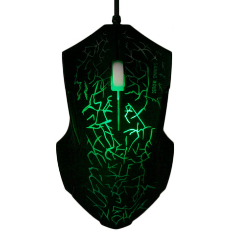 Professional X9 LED Optical USB Wired Gaming Mouse 4000DPI