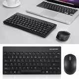 Motospeed 2.4GHZ Wireless Keyboard Mouse Set Lightweight 1600DPI