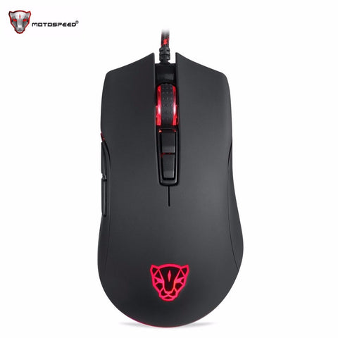 Motospeed V70 12000DPI USB Wired Gaming Mouse RGB