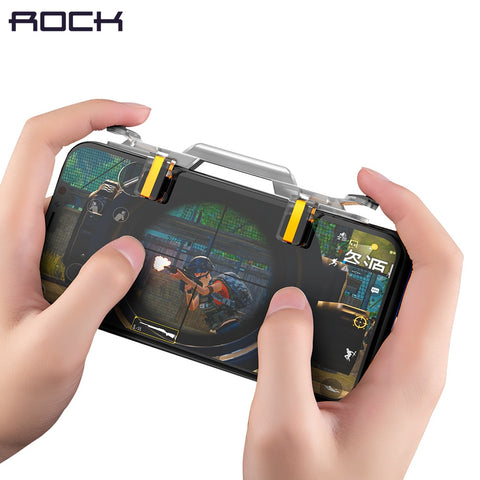 Rock Phone Gaming Trigger for PUBG Rules of Surviva Sm Game Fire Button