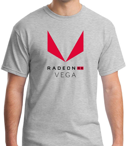 AMD Radeon Vega Grey T-shirt Men's Tshirt S to 3XL Print Cotton High Quality top tee
