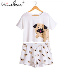 Load image into Gallery viewer, Pug Print Pajamas