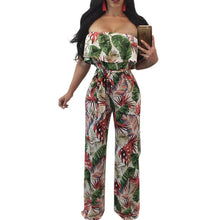 Load image into Gallery viewer, Floral  Sexy Beach  Jumpsuit