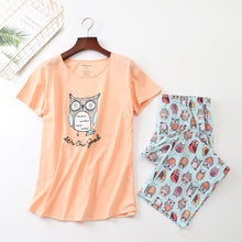 Load image into Gallery viewer, Owl Pajama set