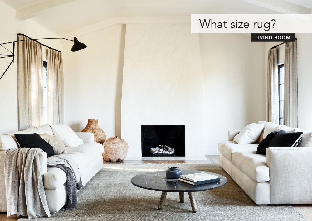 The right size rug for your living room
