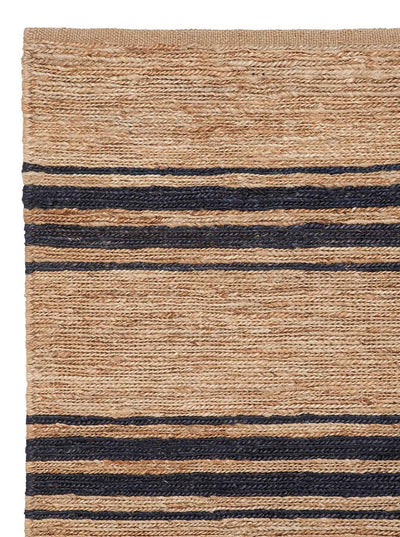 Armadillo & Co River Ticking Stripe - Natural & Indigo