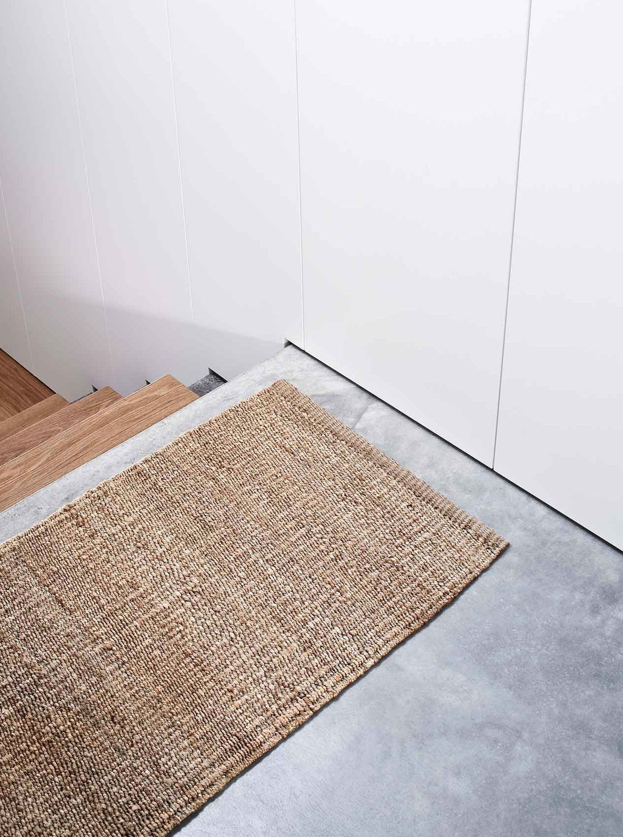 Armadillo Nest Entrance Mat - Natural
