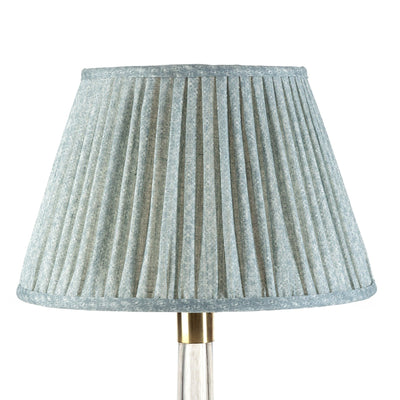 Fermoie Lampshade in Blue Figured