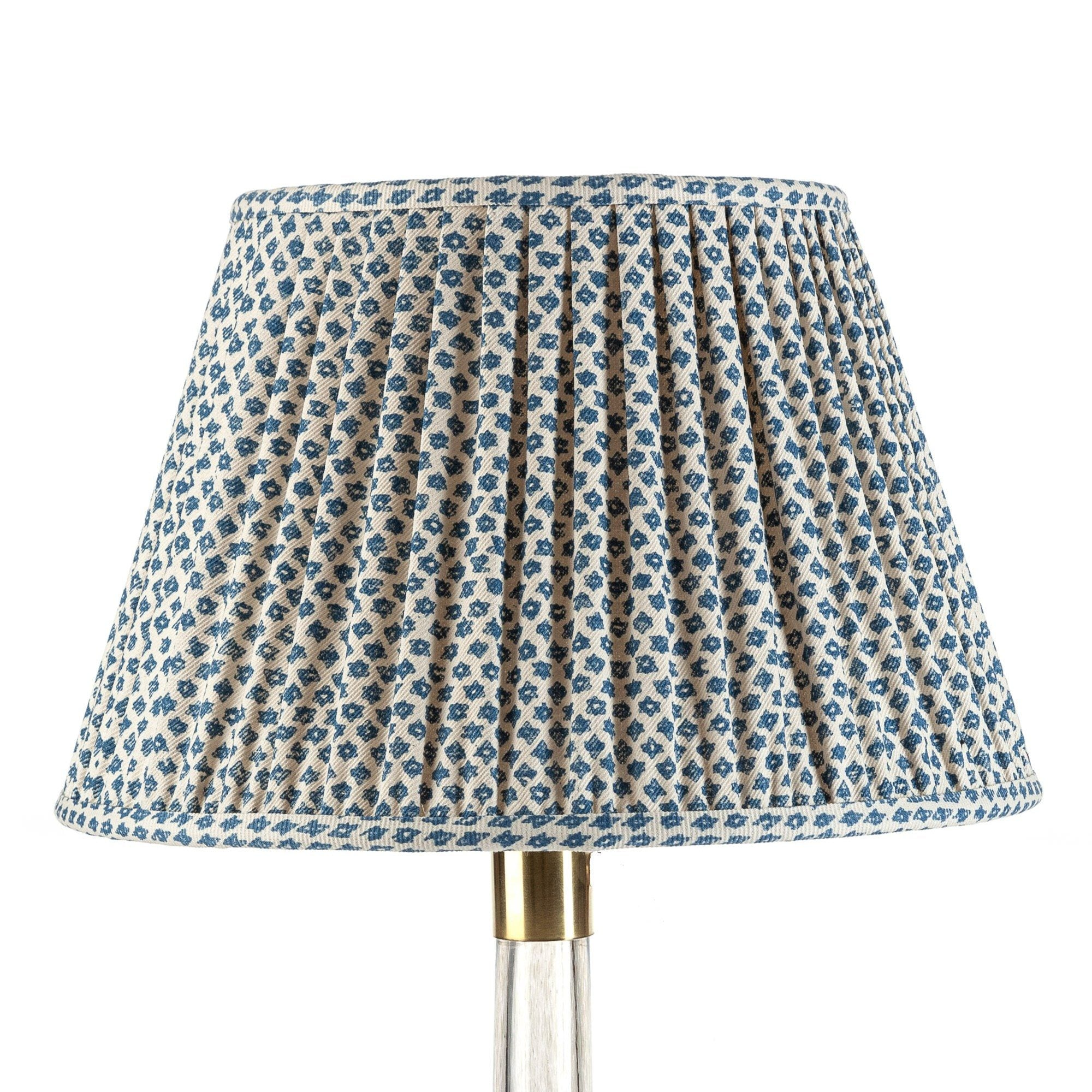 Fermoie Lampshade in Blue Marden
