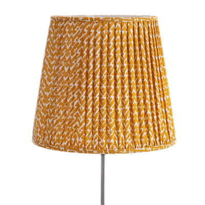 Fermoie Lampshade in Yellow Rabanna