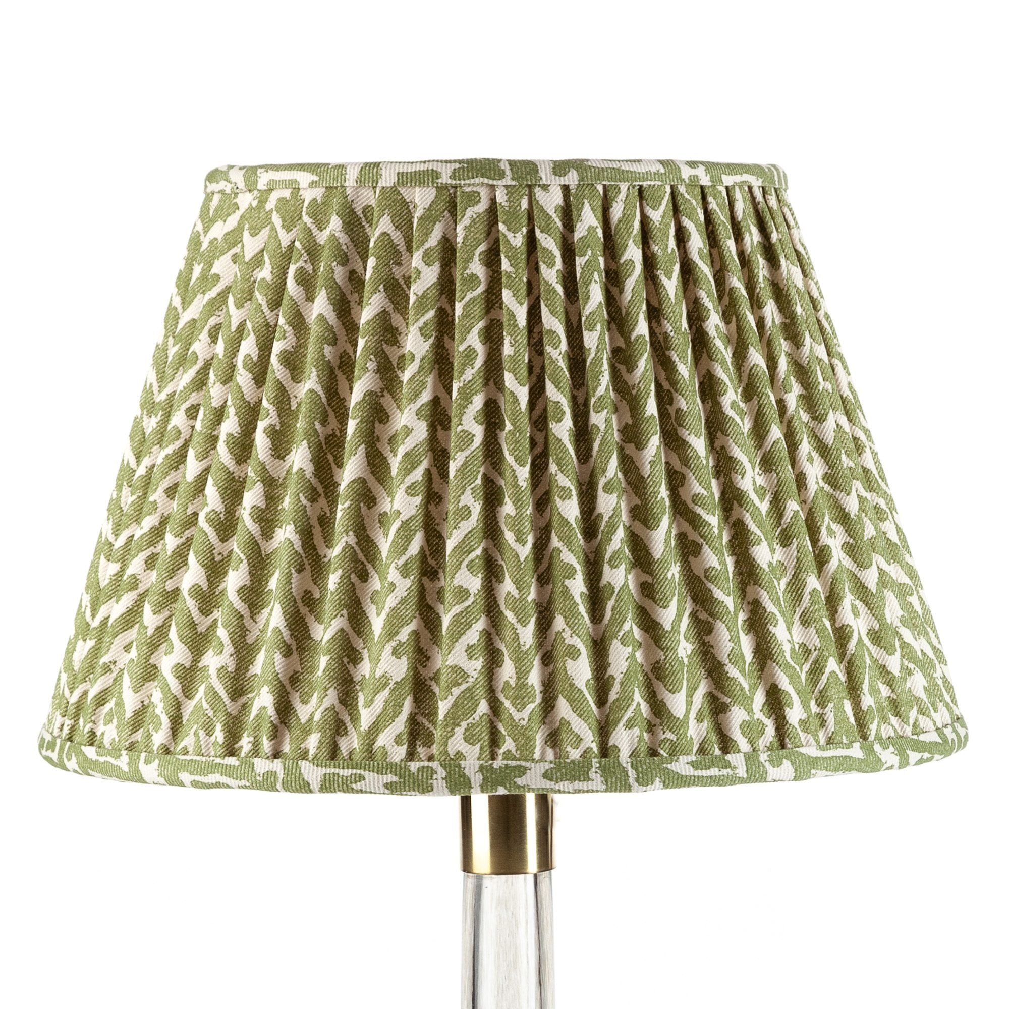 Fermoie Lampshade in Green Rabanna