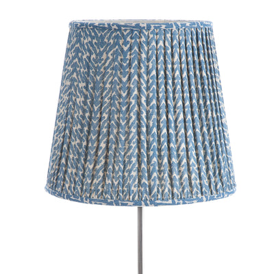 Fermoie Lampshade in Blue Rabanna