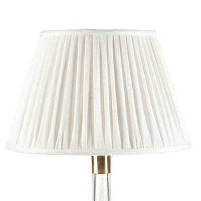 Fermoie Lampshade in Ivory Plain
