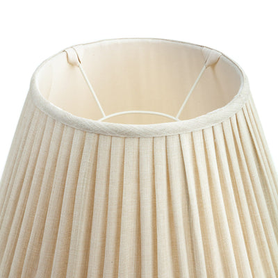 Fermoie Lampshade in Cream Moire