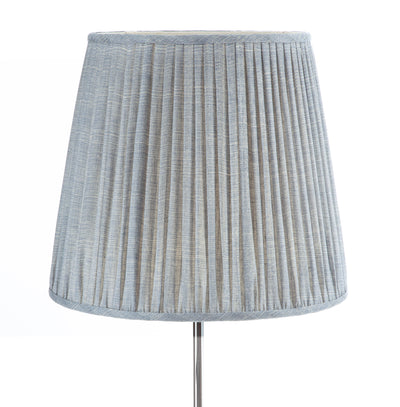 Fermoie Lampshade in Blue Moire