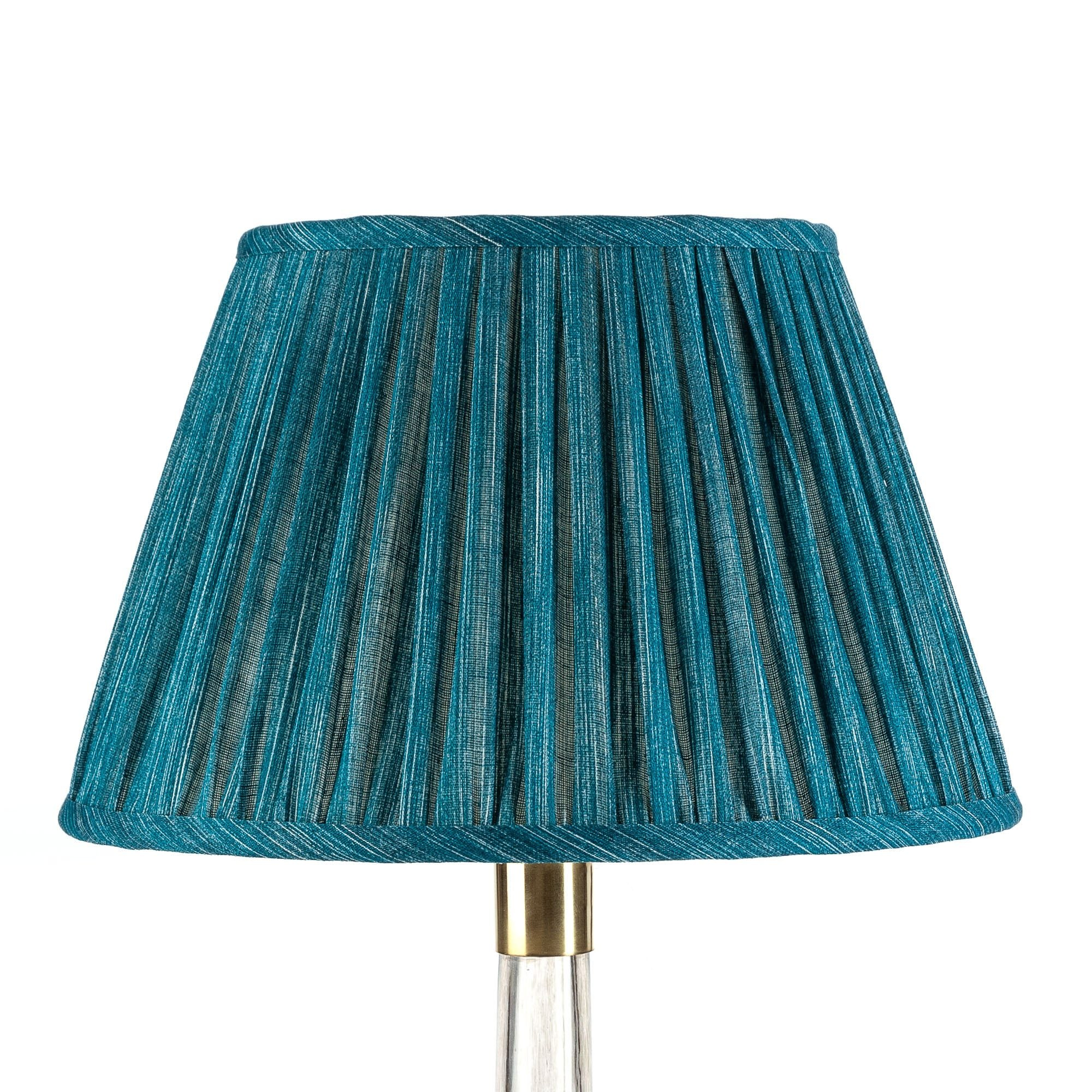 Fermoie Lampshade in Suede Shoes