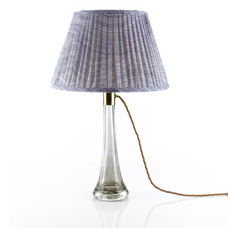 Fermoie Lampshade in Indigo Wave