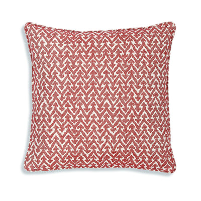 Fermoie Cushion in Red Rabanna