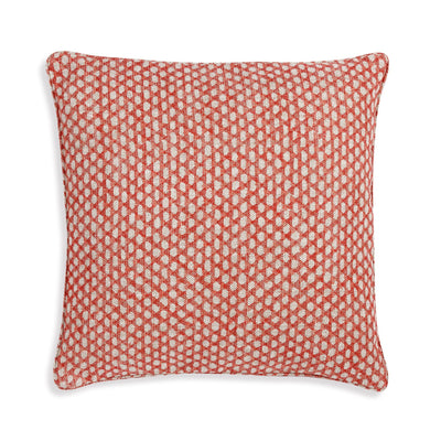 Fermoie Cushion in Red Wicker